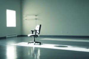 Empty Office with A Chair